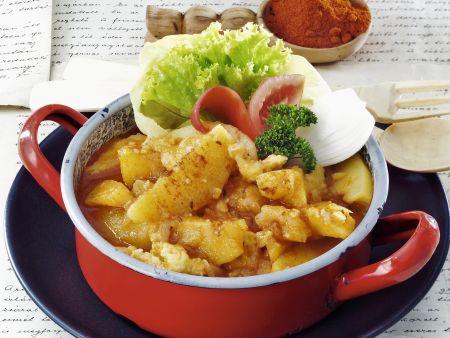 Ungarisches Kartoffel-Paprikagemüse