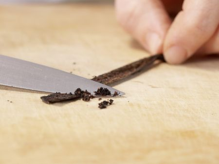 Vanille-Milchmix: Zubereitungsschritt 1