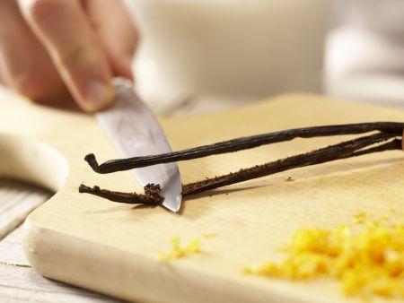 Vanille-Milchreis: Zubereitungsschritt 2