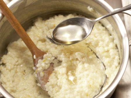 Vanille-Milchreis: Zubereitungsschritt 7