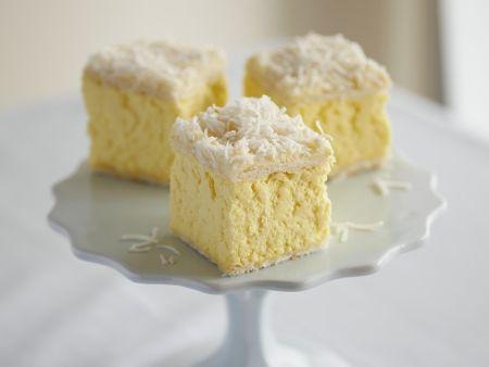Vanillewürfel mit Kokos