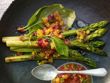 Kochbuch für vegane Spargelrezepte