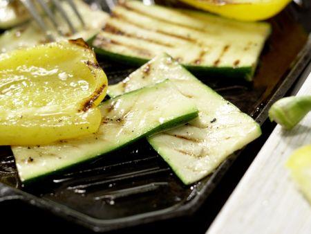Vegetarische Club-Sandwiches: Zubereitungsschritt 2