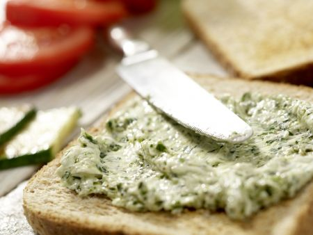 Vegetarische Club-Sandwiches: Zubereitungsschritt 7
