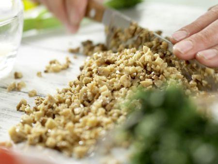 Vegetarische Lasagne – smarter: Zubereitungsschritt 1