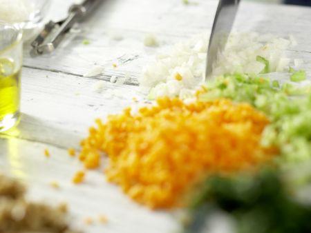 Vegetarische Lasagne – smarter: Zubereitungsschritt 2