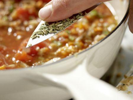Vegetarische Lasagne – smarter: Zubereitungsschritt 5