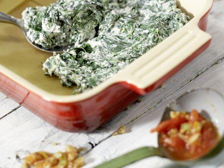 Vegetarische Lasagne – smarter: Zubereitungsschritt 8