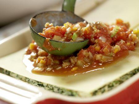 Vegetarische Lasagne – smarter: Zubereitungsschritt 9