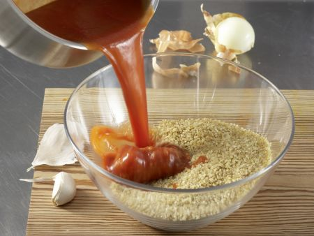 Vegetarisches Chili: Zubereitungsschritt 1