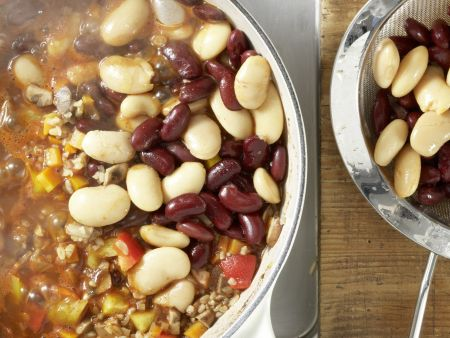Vegetarisches Chili: Zubereitungsschritt 10