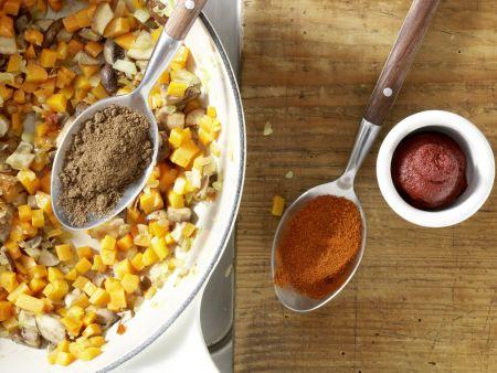 Vegetarisches Chili: Zubereitungsschritt 7