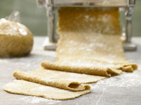 Vollkorn-Pastateig