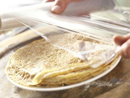 Vollkorn-Pfannkuchenteig: Zubereitungsschritt 5
