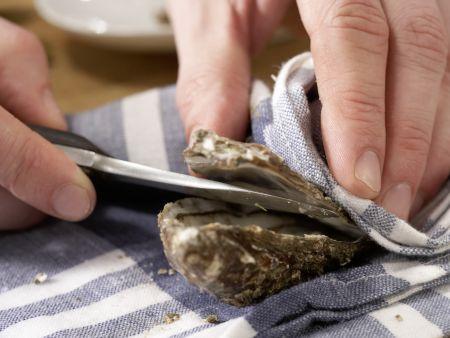 Warme Austern: Zubereitungsschritt 4