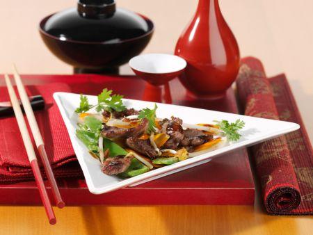 wasabi ente aus dem wok rezept eat smarter. Black Bedroom Furniture Sets. Home Design Ideas