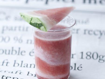 Wassermelonen-Erdbeer-Smoothie