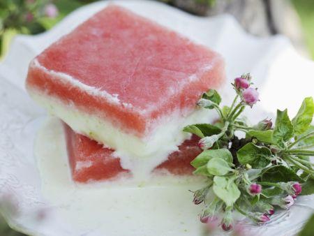 Wassermelonen-Parfait
