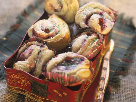 Weihnachtbrötchen auf schwedische Art