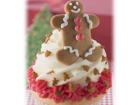 Weihnachtlicher Cupcake