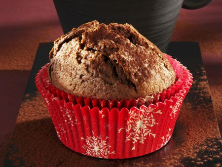 Weihnachtlicher Lebkuchenmuffin