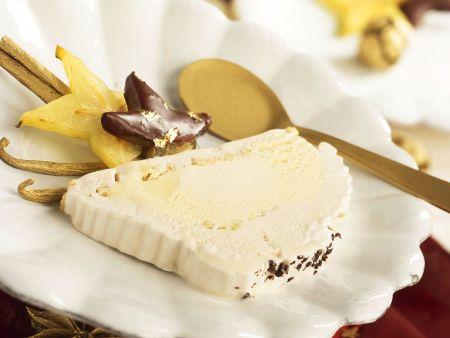Weihnachtliches Vanilleparfait