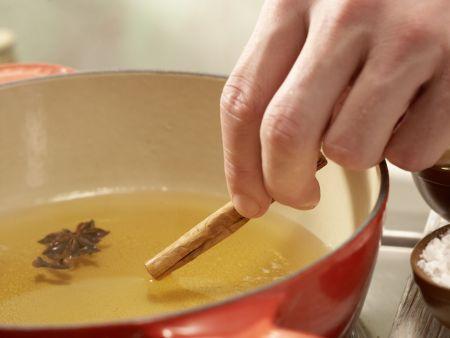 Weintrauben in Gelee: Zubereitungsschritt 3