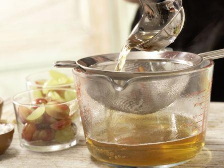 Weintrauben in Gelee: Zubereitungsschritt 5