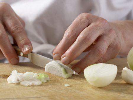 Weißer Risotto: Zubereitungsschritt 1