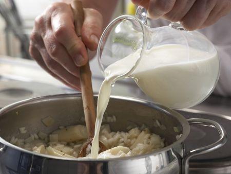 Weißer Risotto: Zubereitungsschritt 11