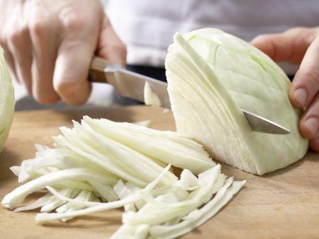 Weißkohl-Kokos-Curry: Zubereitungsschritt 5