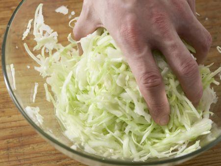 Weißkrautsalat – smarter: Zubereitungsschritt 3