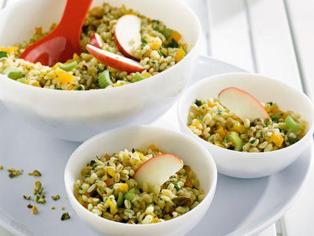 Weizensalat mit Aprikosen