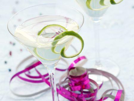Wermut-Gin-Drink