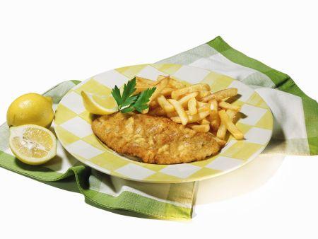 Wiener Schnitzel mit Pommes frites