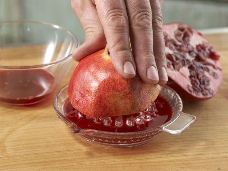 Wildschwein-Medaillons mit Walnusskruste: Zubereitungsschritt 7