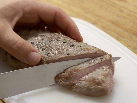 Wildschweinfilet mit Feigen: Zubereitungsschritt 12