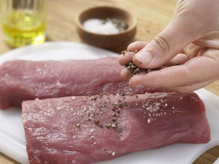 Wildschweinfilet mit Feigen: Zubereitungsschritt 6