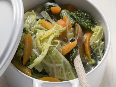 Wirsing-Karotten-Eintopf