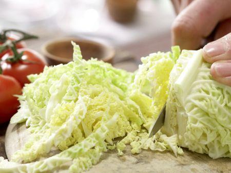 Wirsing-Lasagne: Zubereitungsschritt 1