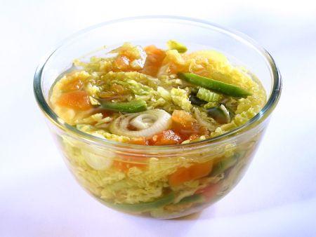 Rezept: Wirsingsuppe