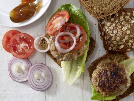 Würzige Beefhack-Burger – smarter: Zubereitungsschritt 3