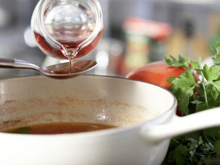Würzige Hähnchensülze: Zubereitungsschritt 3