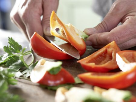 Würzige Hähnchensülze: Zubereitungsschritt 4