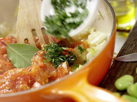 Würziger Gemüse-Eintopf: Zubereitungsschritt 8