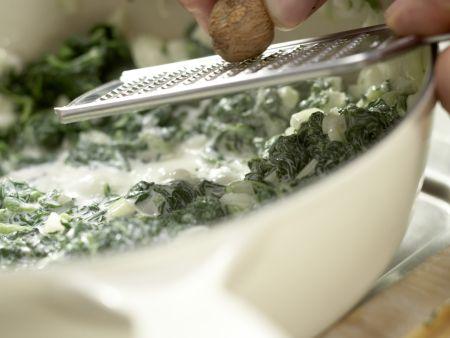 Würziger Spinat: Zubereitungsschritt 5
