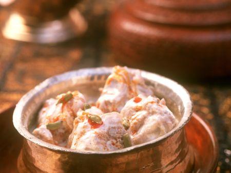 Würziges Lamm-Sahne-Curry auf indische Art