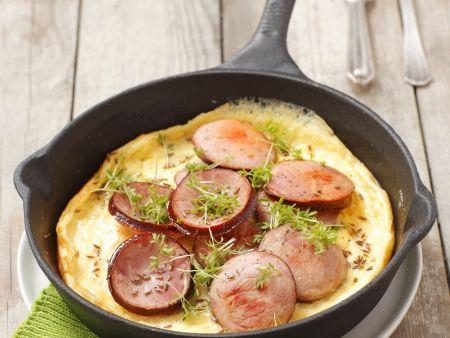 Wurst-Omelett