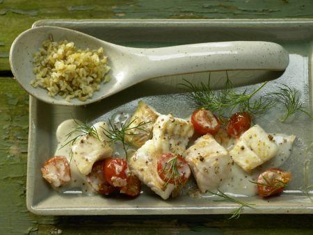 Rezept: Zander-Tomaten-Pfanne
