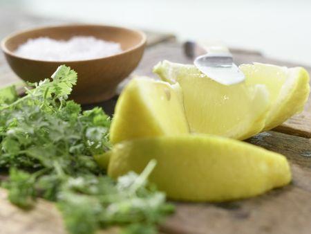 Zanderfilet auf Zucchini: Zubereitungsschritt 6